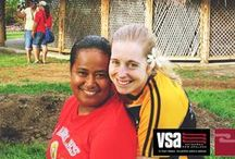 Samoa / VSA's association with Samoa dates back to 1963 when our very first volunteer took up an assignment in Apia. Till recently, these assignments were primarily focussed on education. In 2012, we began sending volunteers who are working in agriculture, livelihoods, community infrastructure and disaster preparedness.