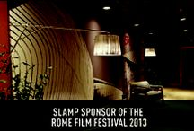 Slamp sponsor of the Rome Film Festival 2013 / It was a strong, trembling, enchanting emotion. One of those you never forget, especially for the team girls who followed the installation of the SLAMP lamps at the Auditorium Parco della Musica designed by Renzo Piano...