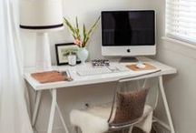 Home: Office / decorating and organizing an office space