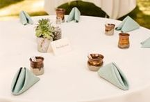 Table Settings / table setting ideas