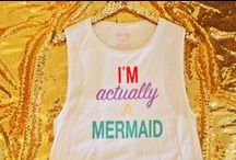 Sparkly Ever After Shop / Home of the I'm Actually a Mermaid shirt. More fabulous designs to come soon.