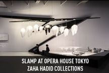 Zaha Hadid - Opera House Tokyo / #Aria e #Avia, le due opere architettoniche in scala ridotta firmate dall'#archistar Zaha Hadid per Slamp, sono state in ottobre protagoniste al #Tokyo Opera City Art #Gallery. ----------------------------- Aria and Avia, designed by the archistar #ZahaHadid for Slamp, are the two suspension #lamp collections that reproduce the majesty of great architectural works that have been included at the #Tokyo Opera City #Art Gallery.  More: www.slamp.com