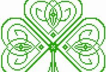 CRAFTS: Irish Themed Crafts / cross stitch, embroidery, crochet, paracord, quilting