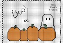 CROSS STITCH: Halloween