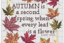 Cross Stitch: Thanksgiving/Fall