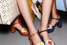Colourful shoes