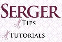Sewing: Serger / Things to make & how to use a serger.