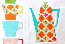 Quilting: Cups/Coffee & Tea Pots