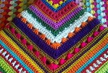 Crochet: Granny Squares/Triangles / Things to make..things to ponder..WHY did they make that?