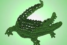 Crochet: Gators & Crocs