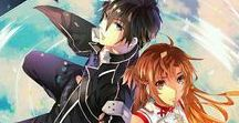 Sword Art Online / Fan arts from anime Sword Art Online (SAO). A beautiful love story.