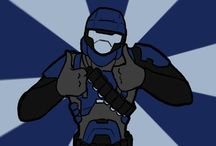Halo Red Vs Blue Agent Florida/ Captain Butch Flowers