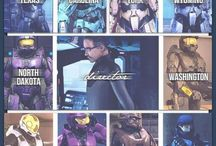 Halo Red Vs Blue Freelancers and A.I