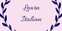 Learn Italian / If you are looking to teach your children Italian (or learn it yourself) this board is full of ideas, games, worksheets and tips. You'll be speaking fluently before you know it.