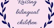 Raising bilingual children / Raising bilingual children comes with it's own challenges. This board is full of all the pins you will need including tips, work sheets and stories from other bilingual families.