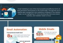 Email Marketing Facts and Statistics / Interesting facts about Email Marketing | To join the board follow Quiz4Leads & send a message on Pinterest | Post only relevant content or we will remove you