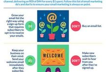 Email Marketing Do's & Don'ts / What to do and not to do in Email Marketing | To join the board follow Quiz4Leads & send a message on Pinterest | Post only relevant content or we will remove you