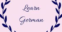 Learn German / If you are looking to teach your children German (or learn it yourself) this board is full of ideas, games, worksheets and tips. You'll be speaking fluently before you know it.