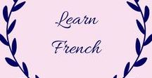 Learn French / If you are looking to teach your children French (or learn it yourself) this board is full of ideas, games, worksheets and tips. You'll be speaking fluently before you know it.