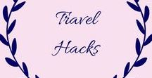 Travel Hacks / Full of tips, hacks, advice and tricks for traveling with and without kids, including packing and more.