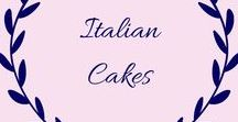 Italian Cakes / Full of amazing Italian cakes, pies, pastries, cupcakes, sweets, biscuits and desserts. The recipes for many of these Italian cakes are simple to make and mouthwatering too.