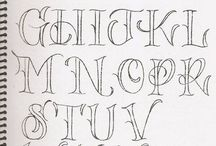 Writing / Tips for caligraphy