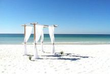 Where Fun Meets Forever: Weddings in PCB / Emerald waters, white sand beaches and temperate weather make for an unforgettable wedding on Panama City Beach.