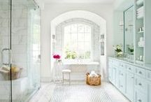 bathrooms / by Lindy Vint