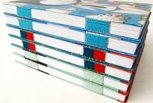 Livros Artesanais - Canteiro de Alfaces / folhas escritas ou por escrever, costuradas à mão por Luisa Gomes Cardoso.