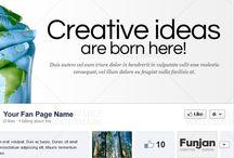 Facebook Timeline / Creative Facebook Timeline designs.  #socialmedia #facebook #fb