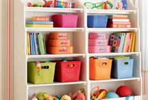 Organizing children's space / by Love Your Space - A Professional Organizer