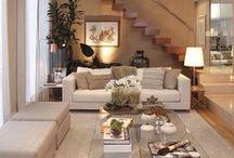 Decoração Sala de Estar | TV / ♥