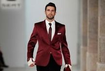 Trend | Burgundy Menswear / Burgundy menswear is everywhere this fall.  Burgundy is a relatively neutral color that blends well with all shades of grey, navy, brown & black. / by BuyYourTies.com