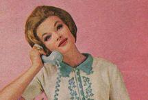 Ring.Ring.Ring. (Telephones). / All things Rotary. Pastel and Princess of course! *mid-century.