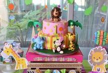 Jungle/Safari themed Birthday / by Tania Haynes