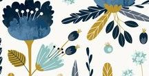 Cute Pattern Design Ideas / I love to design unique patterns with cute themes.