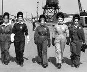 Wartime Women Welders / Female welders in the industry