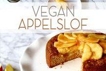 VEGAN TAARTEN & CAKES / Hier vind je een verzameling van recepten voor vegan taarten en cakes.
