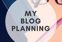 My Blog Planning
