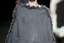 Knitwear ponchos | Вязание. Пончо