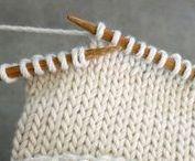 Knitting how to | Вязание приемы