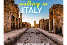 Walking in Italy / Travel in Italy