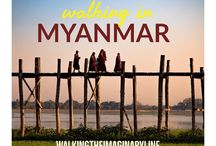 Walking in Myanmar / Travel in Myanmar