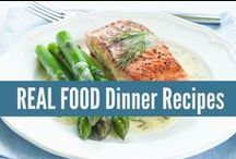 ♨ Real Food Main Dishes ♨ / REAL FOOD Dinner Recipes, made with real ingredients! Not something from a box. realfoodrn.com #realfood