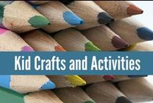 Kid Stuff / Kid crafts and activities. Some of my favorites to keep them busy! #crafting #kids