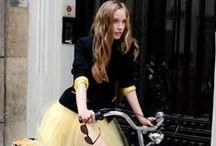 I ride my bike