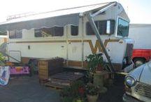 vintage Winnebago in Sunny California / we live in our 73 Winnebago... full time!