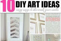 DIY Crafty Things / DIY Art + Crafty Things / by Aspiring Dana