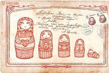 Babushkas / Matriochkas / Nesting Dolls