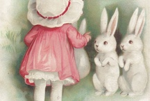 The Easter bunny / by Linda Freeman